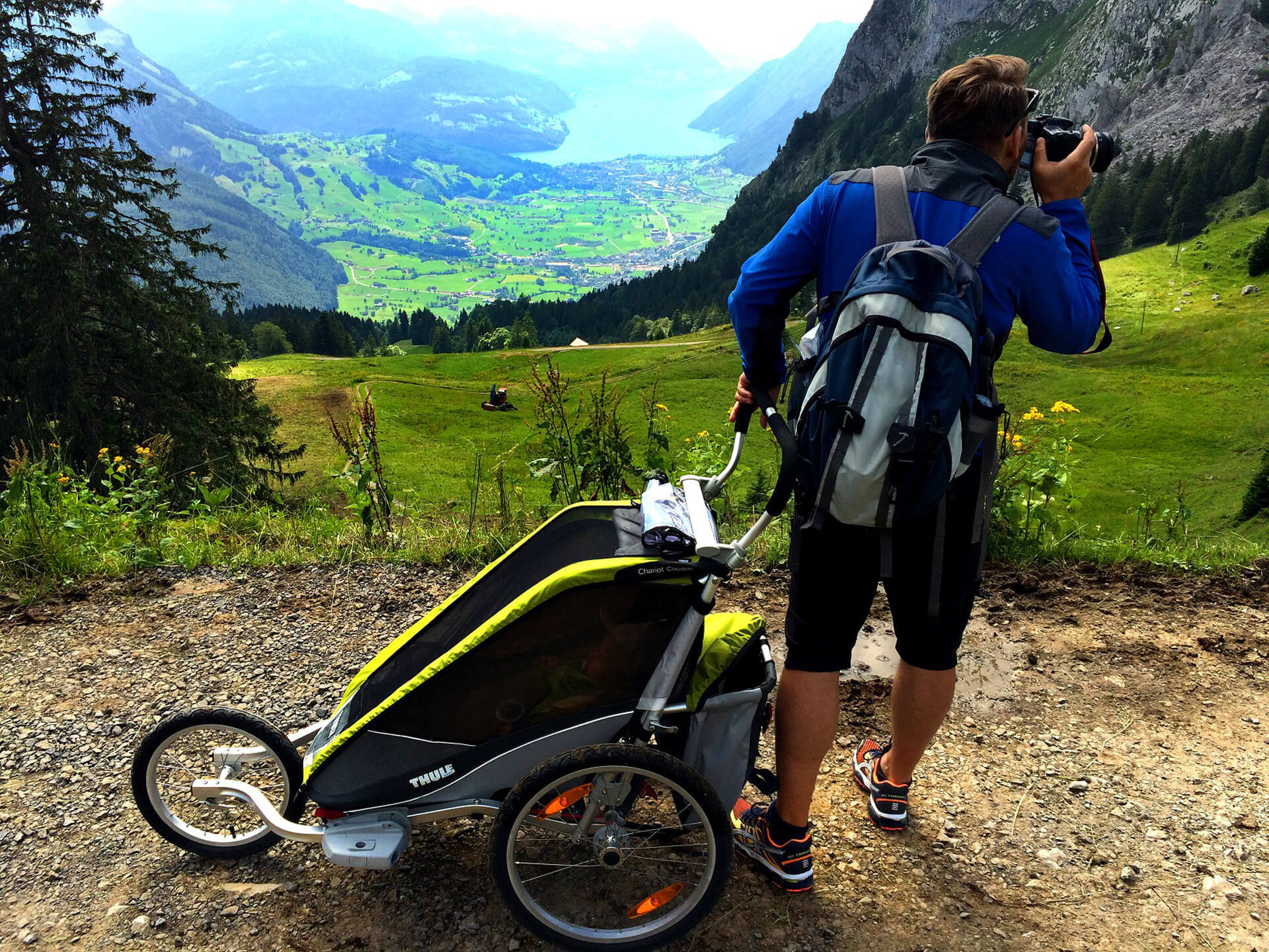 Thule Chariot Coguar One Swiss