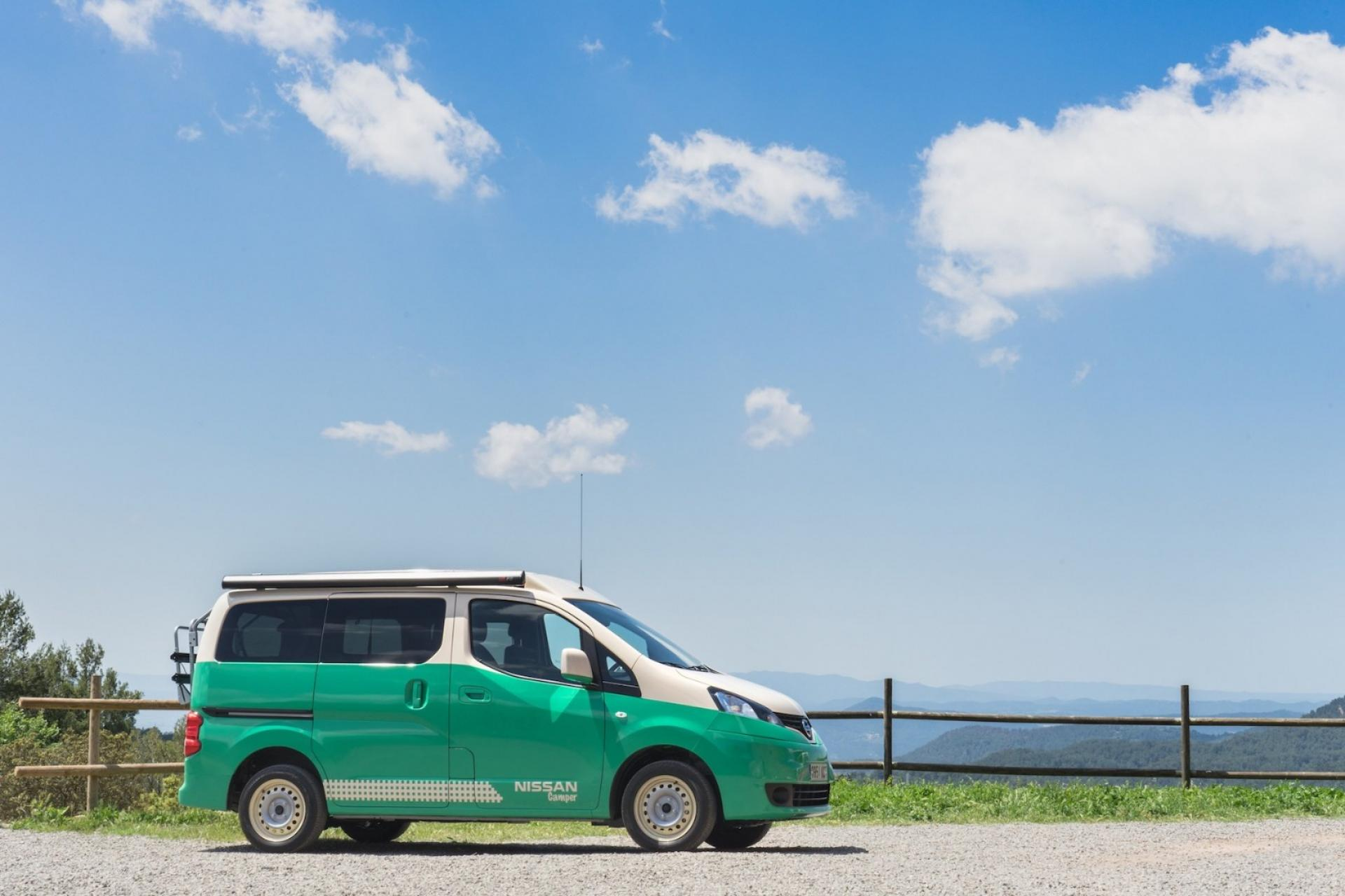 Elektryczny Nissan camper motor show madryt hellocamping news
