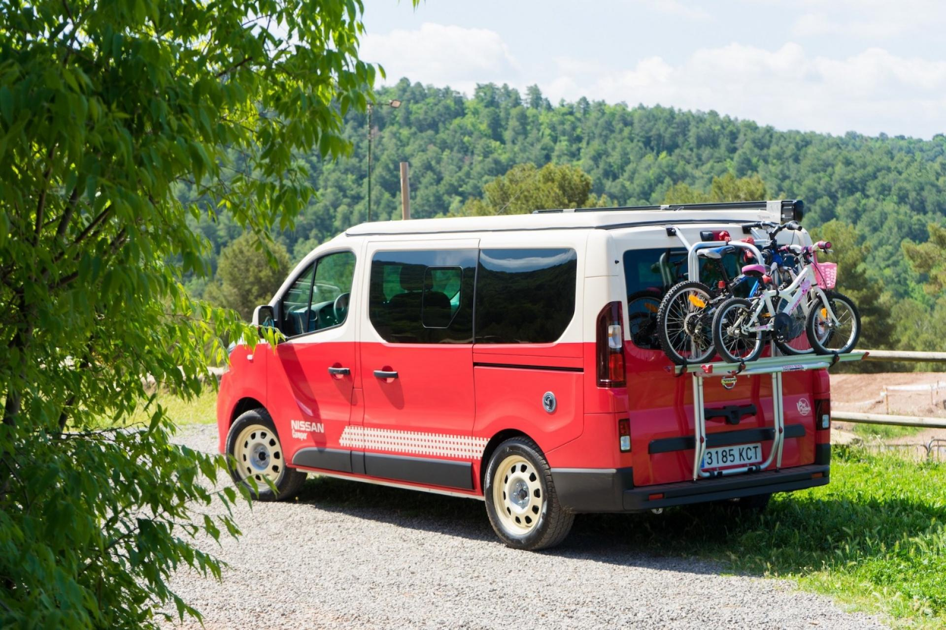 Nissan camper motor show madryt hellocamping news